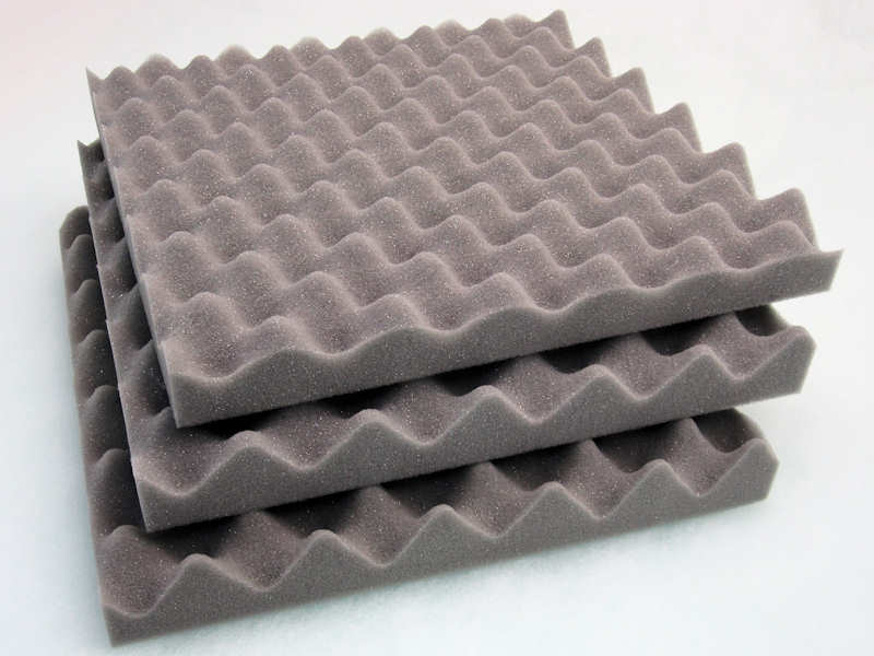 acoustic sound proofing foam tiles panels bass traps