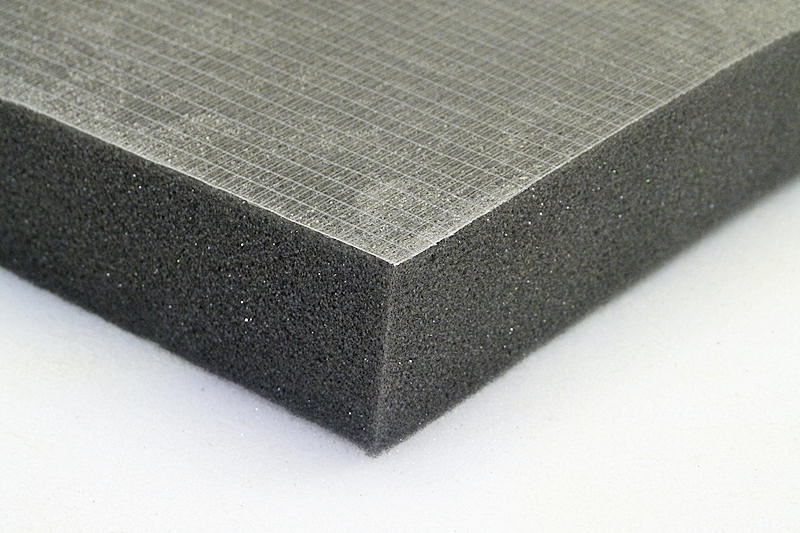 Acoustic sound proofing foam 4 x self adhesive flat for Soundproof foam